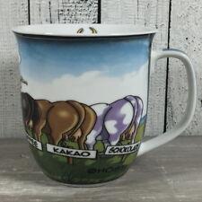 Großer Kaffeebecher NOCH FARGEN ? Comic Kühe Hösti Becher Tasse Kuh maritim