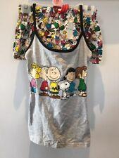 BNWT SNOOPY PEANUTS Ladies Pyjamas Primark Cami Vest Shorts Sizes XS-XL SUMMER
