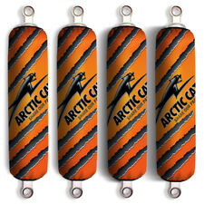 Orange Arctic Cat Shock Protector Covers XC 450 XC450 ATV 450i 4x4 (Set 4)