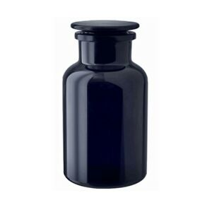 Miron Violet Glass 500ml Apothecary Bottle/Jar with Hand Ground Glass Stopper