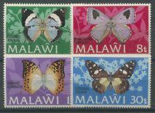 Malawi 1973 Schmetterlinge 195/98 I postfrisch
