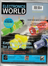 ELECTRONICS WORLD Magazine April 2008 (New Sealed) - Power Supplies