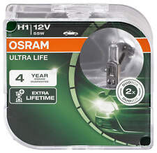 Osram Ultra Life H1 längere Lebensdauer 64150ULT-HCB Autolampe Duo Box
