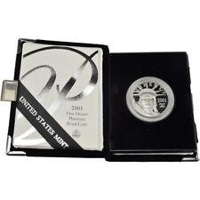 2001 W American Platinum Eagle Proof 1 oz $100 in OGP