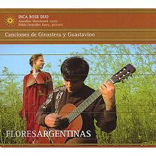 Inca Rose Duo - Flores Argentinas: Canciones de Ginastera & Guasta [New CD]