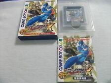 Nintendo Gameboy Color Rockman X Cyber mission Megaman Japan GBC w/box