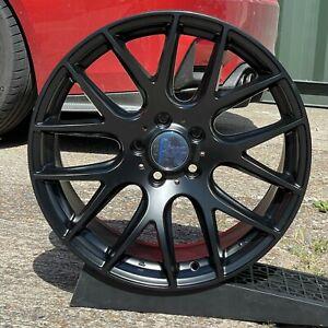 3SDM 0.01 18x8.5 ET45 5x112 Satin Black - set of 4 wheels