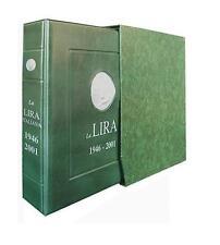 Master Phil Raccoglitore Album monete LIRA LUSSO COMPLETO con custodia