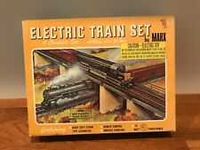 Vintage 1973 Marx Southern Pacific Electric Train Set #4340 Original Box Extras