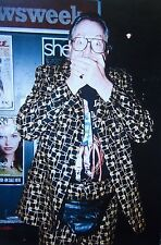 JONATHAN KING clipping '98 color photo Top of Pops singer-songwriter Genesis UK