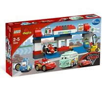 LEGO Duplo Cars The Pit Stop Set 5829(Retired) 100% COMPLETE