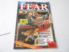 #19 JULY 1990 FEAR horror fantasy science fiction magazine GREMLINS II