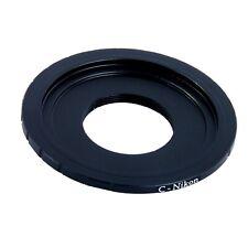 C Mount Lens Adapter fit NIKON F AI Camera Body Lens DSLR Photography Lenses