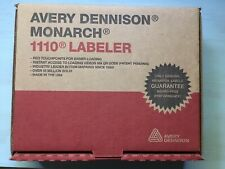 New Monarch Avery Dennison 1110 Price Tag Gun 1110 03 Labeler Ink Instructions