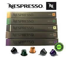 50 GENUINE NESPRESSO COFFEE CAPSULES PODS MOST POPULAR SELECTION LONG EXPIRY, UK