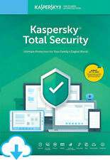 KASPERSKY TOTAL SECURITY 2020 2021 1 PC DEVICE 1 YEAR  ANTIVIRUS - GLOBAL KEY