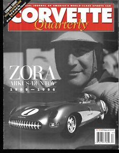 Corvette Quarterly Fall 1996 Zora Arkus Duntov 1984 Vette Big Sky Montana Tour