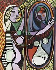 Picasso Girl Before Mirror Giant Poster Art Print Llf1008