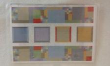 CREATIVE MEMORIES SOFT LINEN BLOCK STICKER SHEET PHOTO MATS JOUR BOX