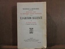 WINSTON S.CHURCHILL: Mémoires sur la deuxième guerre mondiale -III-LA GRANDE ALL