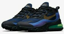 NIKE MEN'S AIR MAX 270 REACT HEAVY METAL AO4971-005 DEEP ROYAL BRAND NEW