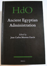Ancient Egyptian Administration. Juan Carcía. HdO. BRILL (2013) Hardcover
