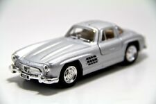 "New 5"" Kinsmart 1954 Mercedes Benz 300 SL Coupe Diecast Model Toy 1:36 Silver"