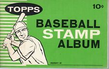 1961 Topps Baseball Stamp Album, Very Hard to Find! ~ VG