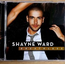 NEW - SHAYNE WARD - BREATHLESS Pop R&B Soul Music CD Album - The X Factor Winner