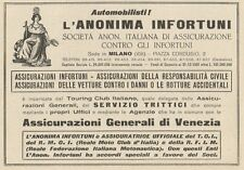Z1178 Assicurazioni Generali di Venezia - Pubblicità d'epoca - 1933 Old advert