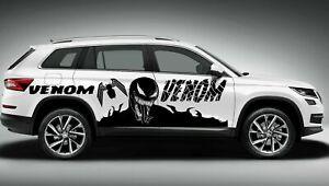 VENOM SPIDERMAN MARVEL COMICS SUPERHERO VINYL DECAL CAR TRUCK TRIBAL