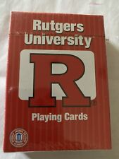 NIP RUTGERS Scarlet Knights University Playing Cards by Imperial
