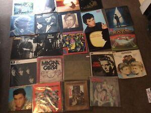 Job Lot Vinyl Lp Records Rock, Prog, Various Etc