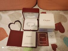 AUTHENTIC CART IER WATCH RED BOX WITH BOOKLET