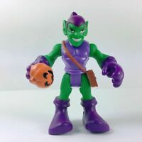 Playskool Marvel Super Hero Adventures GREEN GOBLIN with Pumpkin Bomb Hasbro Toy