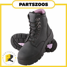 Leather Lace Up Solid Boots for Women