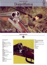 Merkel c1985 Suhl Simson Doppelflinten Gun Catalog