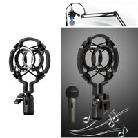Universal Mic Shock Mount Clip Holder Studio Registrazione audio per Condense CR
