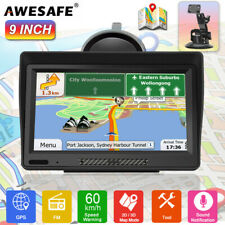 "9"" AWESAFE GPS Navigator for Car Truck A10 Navigation SAT NAV With AU Maps"