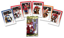 NHL Goalies: Hockey Card Stamp Pack Souvenir Sheets - Sealed box of 10 Sets of 6
