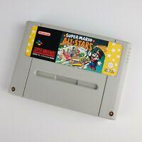 cart only Super Mario All Stars (Super Nintendo * SNES * PAL)