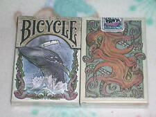 1 deck Bicycle SEVEN SEAS creature colorized playing cards