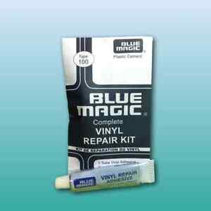 Blue Magic Reparatur-Set für Wasserbetten (Vinyl Repair Kit) Flickset - Type 100