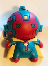 Marvel Universe Series 6 Figural Keyring Keychain Vision Mint Oop