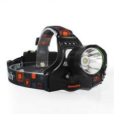 Adjustable XM-L2 LED USB Headlight Camping Hiking Headlamp Head Torch Flashlight