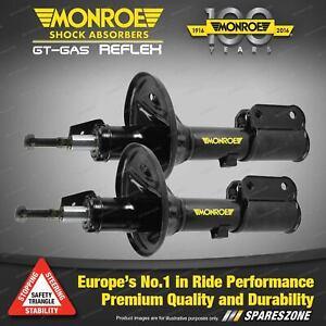 Pair Front Reflex Monroe Shock Absorbers for AUDI A4 B8 Sedan Wagon 2/08-on