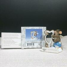Charming Tails 87/131 Harp The Herald Angel Sings Resin Mouse Figurine, Mib