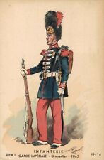 Military Infanterie Garde Imperiale Grenadier 1865 MAURICE TOUSSAINT 02.10