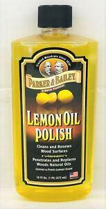 Parker & Bailey Natural Lemon Oil Polish 16 oz