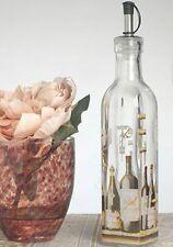2 Europa Collection Medium Oil Vinegar Bottle Cruet Wine Theme Wedding Gifts
